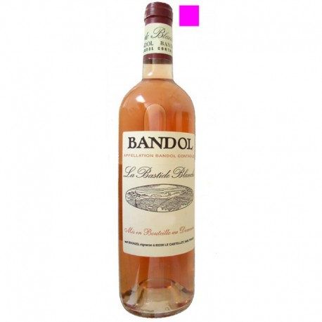 BANDOL rosé 2015 Domaine de la BASTIDE BLANCHE 75cl
