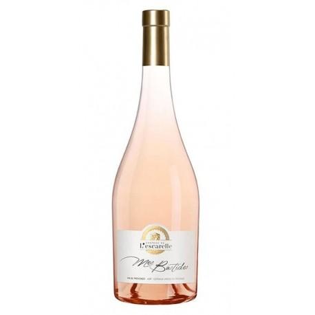 CÔTEAUX VAROIS EN PROVENCE rosé 2015 CHATEAU ESCARELLE Cuvée Mes Bastides 75cl