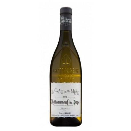 CHÂTEAUNEUF DU PAPE blanc 2008 Vignobles MAYARD La Crau de ma MERE 75cl