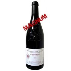 GIGONDAS rouge 2015 Domaine les GOUBERT cuvée Tradition 150cl
