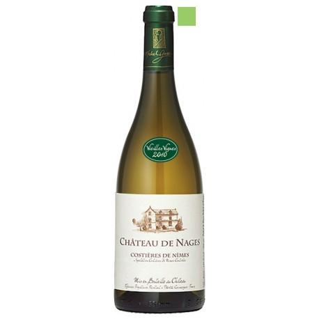 COSTIERES DE NÎMES blanc 2014 Château de NAGES Vieilles Vignes 75cl