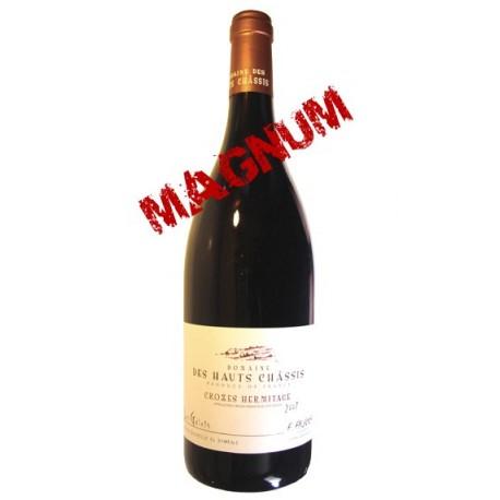 CROZES HERMITAGE rouge 2012 Domaine des HAUTS CHÂSSIS cuvée Les Galets 150cl