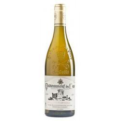 CHATEAUNEUF DU PAPE blanc 2015 Domaine SERGUIER 75cl