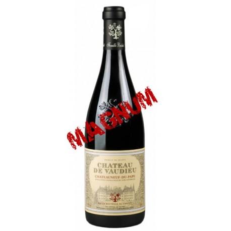 CHATEAUNEUF DU PAPE rouge 2012 Château de VAUDIEU 150cl