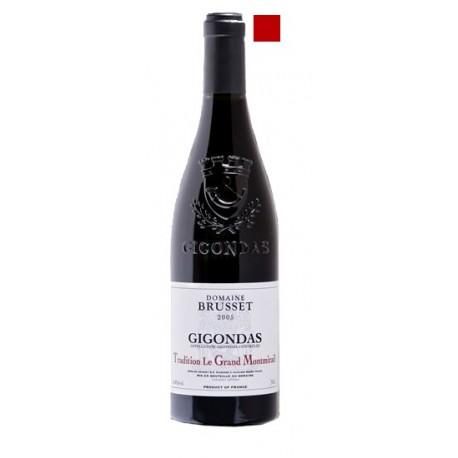 GIGONDAS rouge 2014 Domaine BRUSSET Le Grand Montmirail 75cl