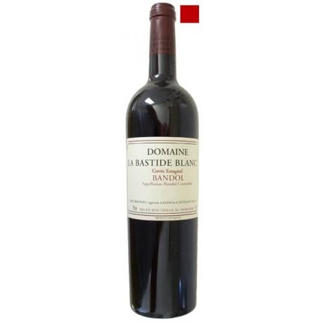 BANDOL rouge 2010 Domaine de la BASTIDE BLANCHE cuvée ESTAGNOL 75cl