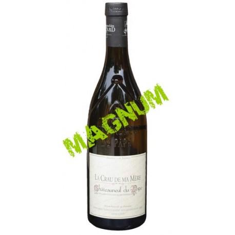 CHÂTEAUNEUF DU PAPE blanc 2007 Vignobles MAYARD La Crau de ma MERE 150cl