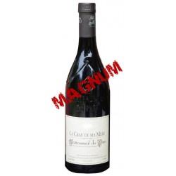 CHÂTEAUNEUF DU PAPE rouge 2011 Vignobles MAYARD La Crau de ma MERE 150cl