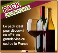 nos packs vins